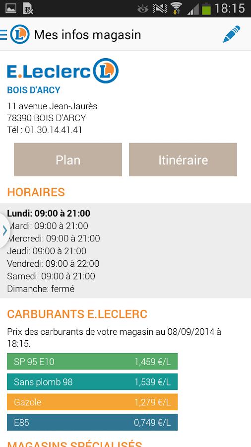 Prospectus - E.Leclerc- screenshot