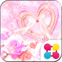 Cute Theme Winter Rose Heart icon