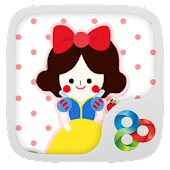 The Snow White Launcher Theme