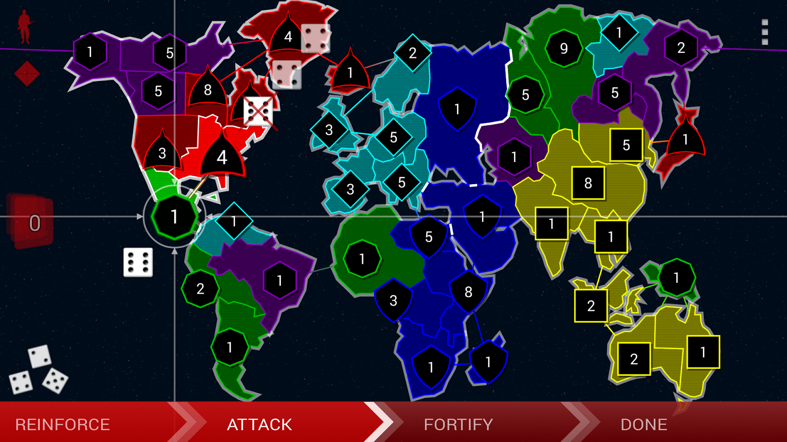 Border Siege LITE [war & risk] - screenshot