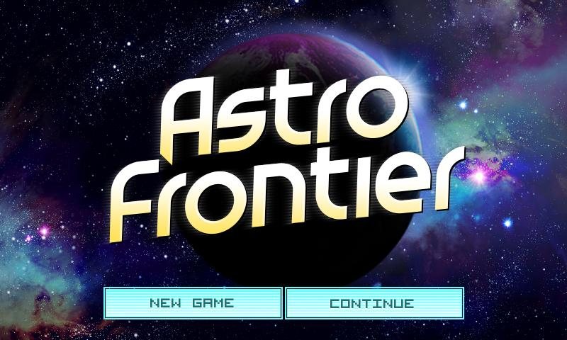 Astro Frontier Lite- screenshot