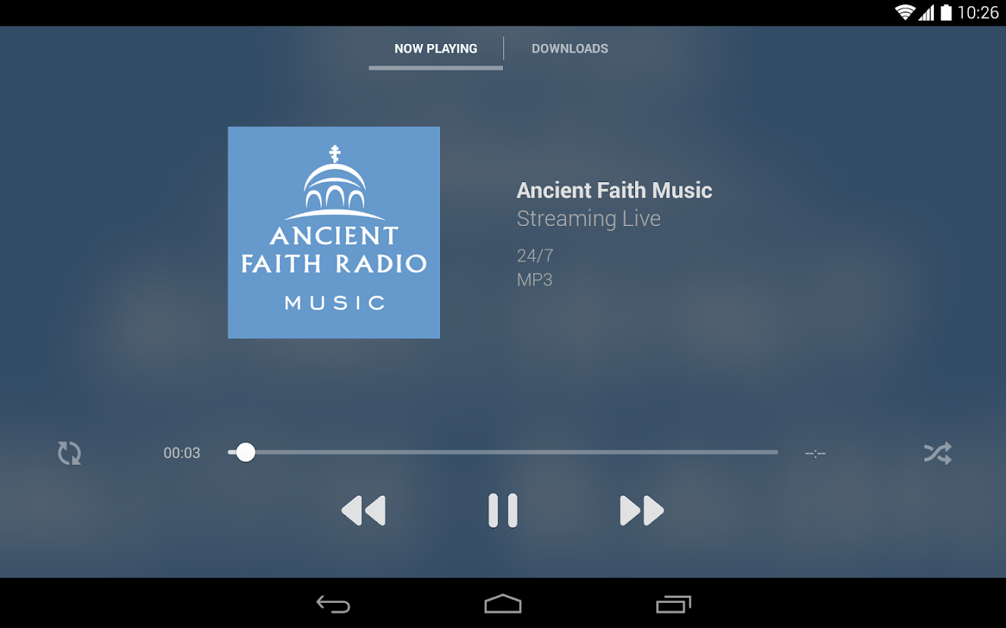 Ancient Faith Radio- screenshot