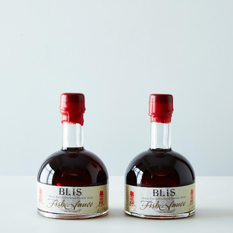 BLiS Bourbon Barrel Red Boat Fish Sauce (2 Bottles)