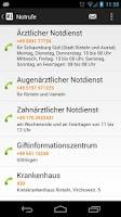 Screenshot of Rinteln App