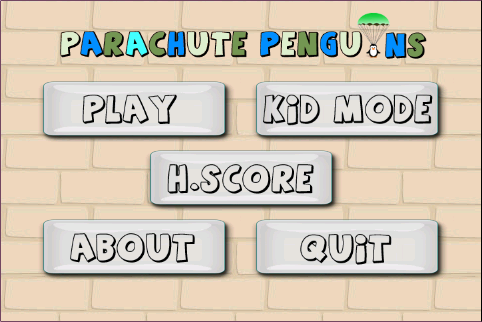 Save Super Parachute Penguin