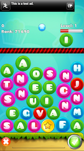 Word Drop : Word bookworm game - screenshot thumbnail