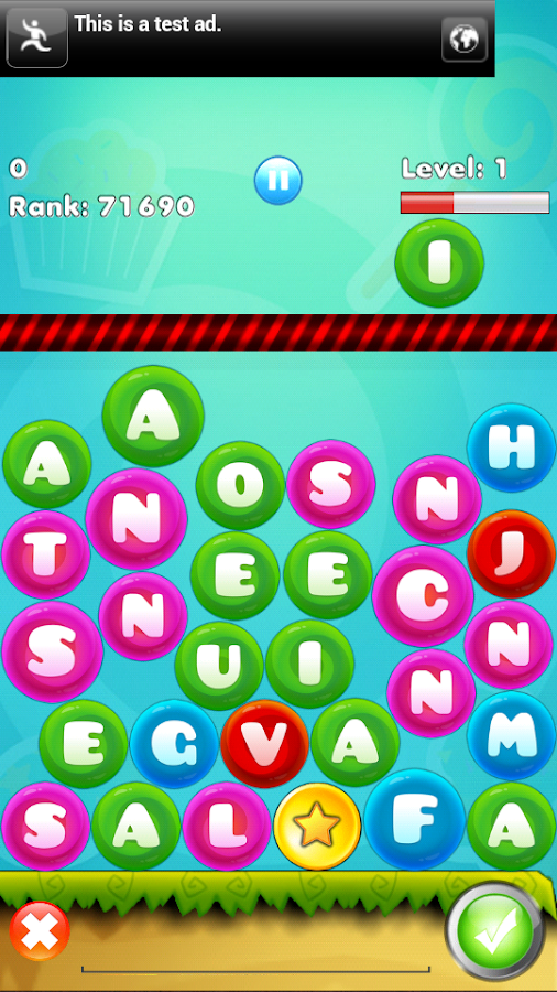 Word Drop : Word bookworm game - screenshot