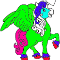 Unicorn Color pages icon