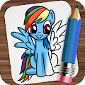 Free Download Drawing Little Pony APK for Samsung