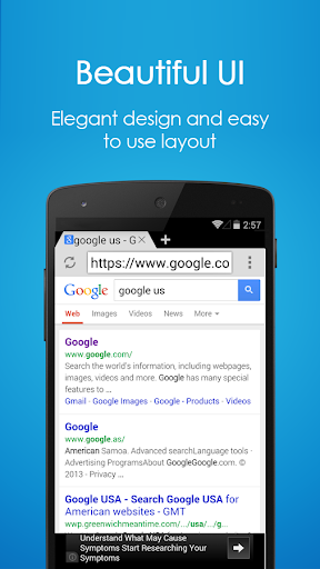 Browser for Android Mobile