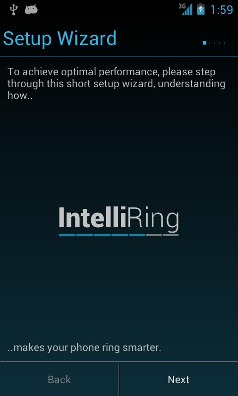 IntelliRing Free - screenshot