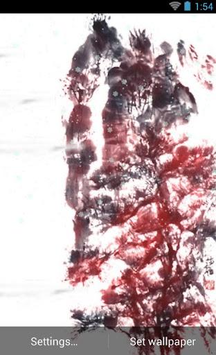 水墨画活的壁纸 02 忍者Art02