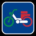 Patentino ciclomotore logo