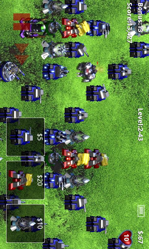 Robo Defense FREE BETA - screenshot