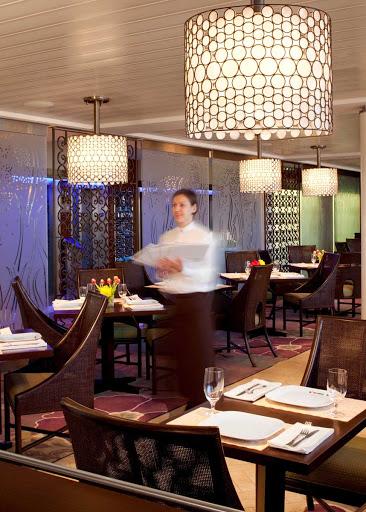 Celebrity_Eclipse_BistroFive - Enjoy the elegant dining experience in Celebrity Eclipse's Bistro Five dining room.