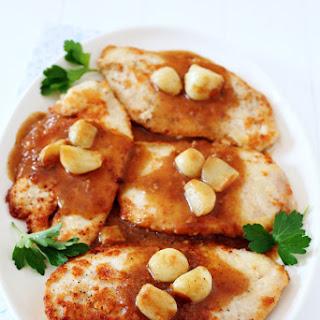 Buttery Garlic Skillet Chicken Recipe