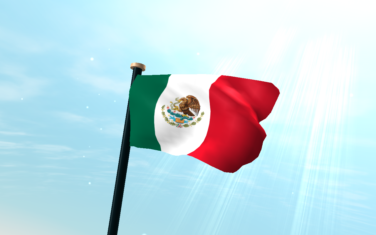 Mexico Flag 3D Free Wallpaper - Android Apps on Google Play