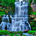 Magical Waterfall Live Wallpap icon