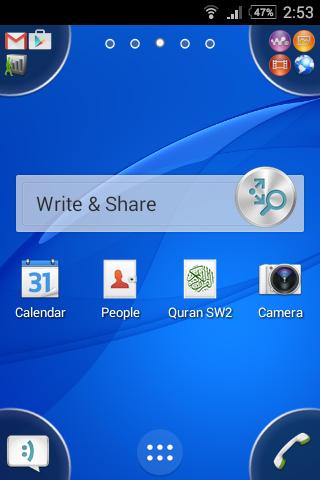 Write Share