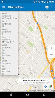 (APK) تحميل لالروبوت / PC Transit Tracker - CTA تطبيقات screenshot