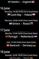 Screenshot of Euro 2012 Guide
