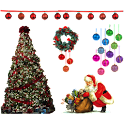 Christmas Night Sticker icon