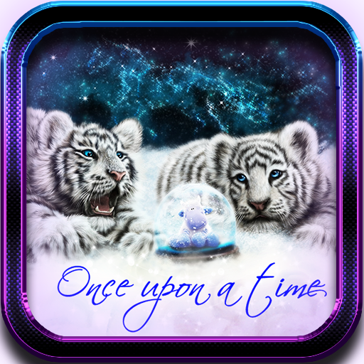 Tiger White Tale LWP 個人化 LOGO-阿達玩APP