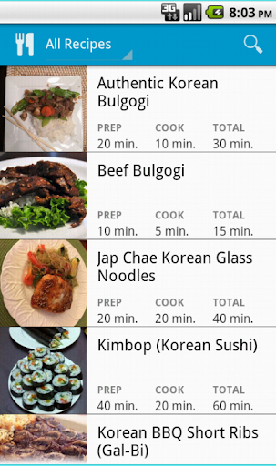 Korean Cooking Lessons