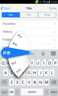 GO Keyboard IPhone IOS 7 Theme
