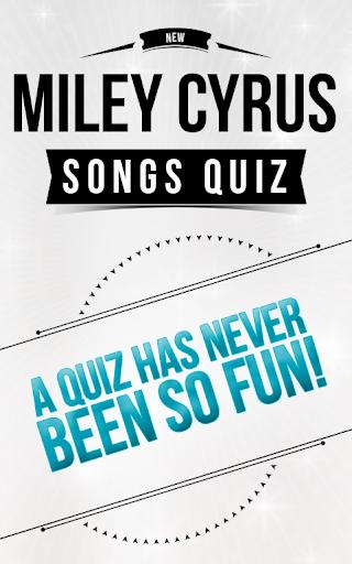 Miley Cyrus - Songs Quiz