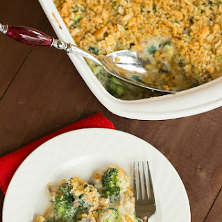 Homemade Broccoli Casserole.