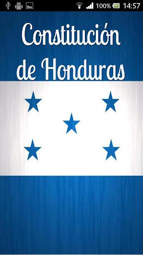Constitución de Honduras