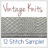 Vintage Knits: Stitch Sampler
