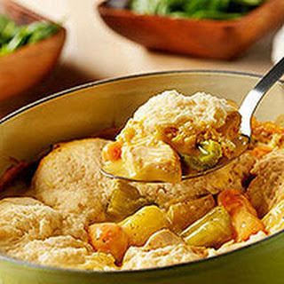 Slow-Cooker Chicken & Dumplings.