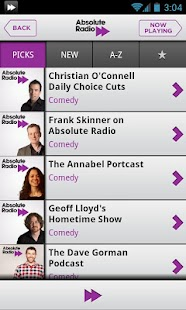 Absolute Radio 00s - screenshot thumbnail