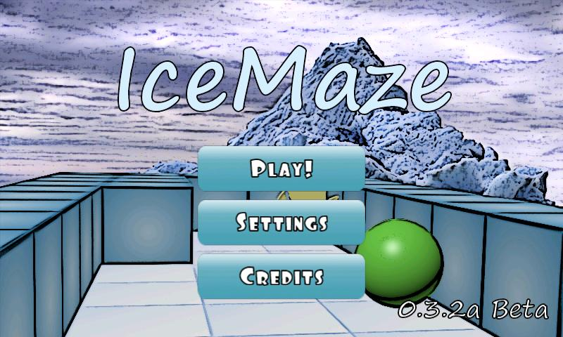 IceMaze Beta- screenshot
