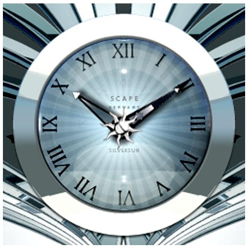 SILVERSUN Designer Clock