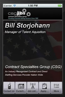 CSGJobs - Bill Storjohann - screenshot thumbnail