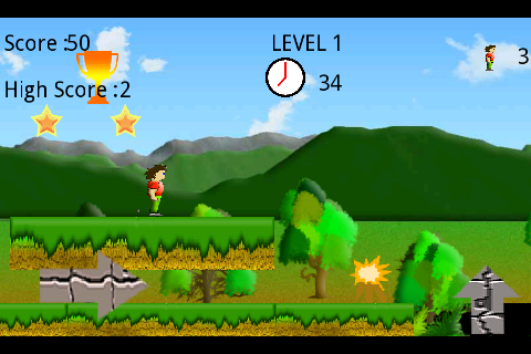 Super Runner Boy( Lite )- screenshot