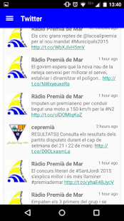 Ràdio Premia de Mar- screenshot thumbnail