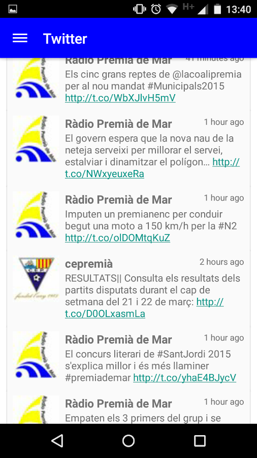 Ràdio Premia de Mar- screenshot