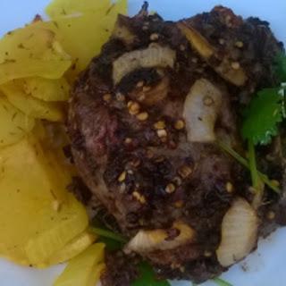 Baked Sichuan Lamb Chops.