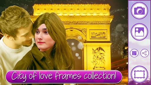 爱在巴黎相框