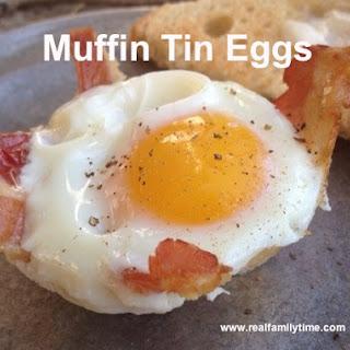 Muffin Tin Eggs Recipe