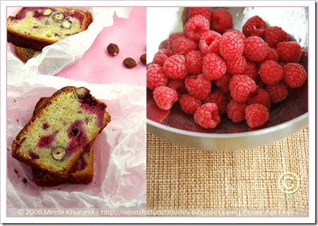 Raspberry Haselnut Cake Diptych (01) by MeetaK