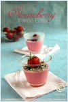 Strawberry Panna Cotta 01 framed