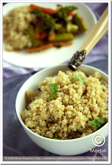 Quinoa Root Veggies (03) by MeetaK