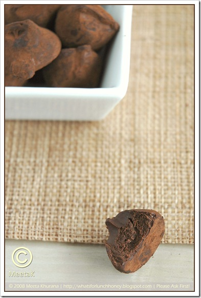 Chocolate Pralines with Cardamom and Chocolate (03) by MeetaK