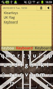 KlearKeys UK Flag Keyboard screenshot 6