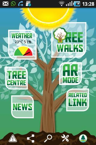 Country Parks Tree Walks- screenshot